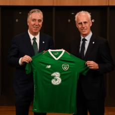 Маккарти возглавил сборную Ирландии