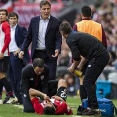 Рауль Гарсия избежал серьезной травмы