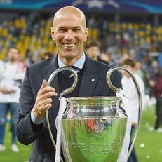 Зидан - лучший клубный тренер года по версии IFFHS
