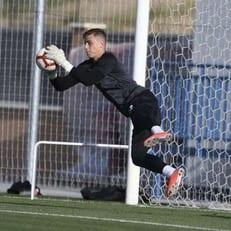 Лунин в стартовом составе на матч кубка Испании