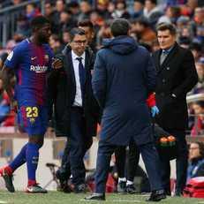 """""""Барселона"""" может заставить Умтити сделать операцию на колене"""