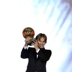 Модрич - первый хорват, выигравший Золотой мяч