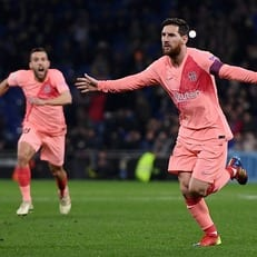 Месси в 2018 году забил уже девять голов со штрафных — больше всех в Европе