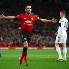 """Мата провел свой 150-й матч в английской Премьер-лиге за """"Манчестер Юнайтед"""""""