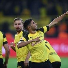 Хакими второй раз получил награду лучшего молодого игрока месяца в Бундеслиге
