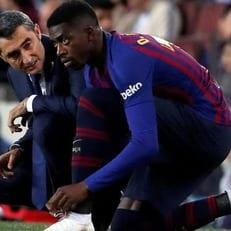 """""""Барселона"""" оштрафовала Усмана Дембеле на 100 тысяч евро"""