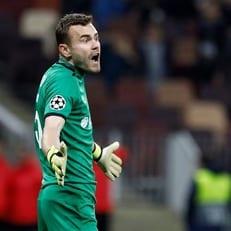 """Акинфеев – четвертый вратарь в истории ЛЧ, не пропустивший в обоих матчах от мадридского """"Реала"""""""