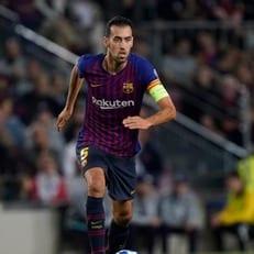 Серхио Бускетс провел сотый матч в Лиге чемпионов
