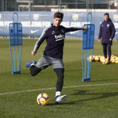 Серхи Роберто вернулся к индивидуальным тренировкам