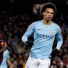 Сане признан игроком недели в Лиге чемпионов