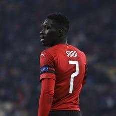 Сарр признан лучшим игроком недели в Лиге Европы