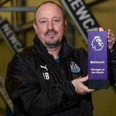 Бенитес признан лучшим тренером АПЛ в ноябре