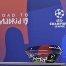 Стали известны результаты жеребьевки 1/8 финала Лиги чемпионов