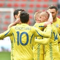 Украина осталась на 28-й строчке в рейтинге ФИФА