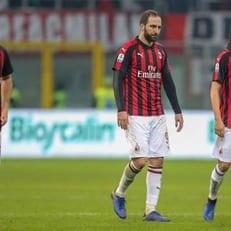 """""""Милан"""" не смог забить в трех матчах подряд впервые с 2001 года"""
