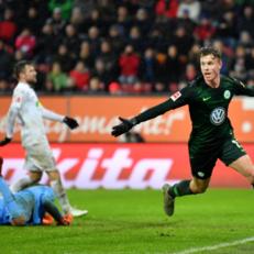 """""""Вольфсбург"""" в драматичном матче обыграл """"Аугсбург"""""""