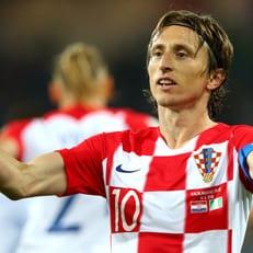 Модрич получил награду лучшему хорватскому футболисту года