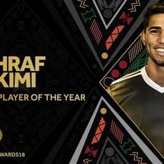 Ашраф Хакими признан лучшим молодым игроком года в Африке