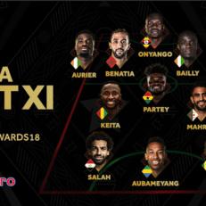 КАФ назвала символическую сборную Африки 2018 года