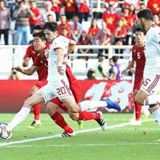 Кубок Азии-2019: Азмун вышел на первое место в списке бомбардиров и вывел Иран в плей-офф