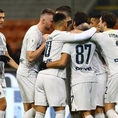 """""""Интер"""" впервые за 48 лет забил шесть голов в кубке Италии"""