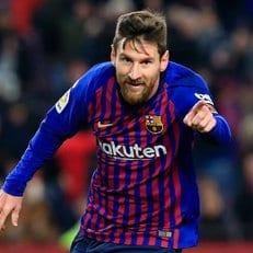 Лионель Месси забил 401-й гол в чемпионате Испании