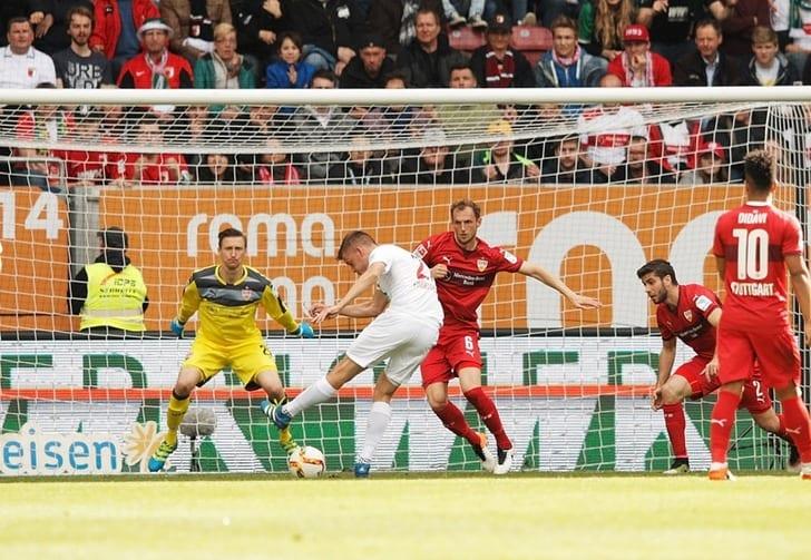 Финбогассон забивает победный гол, Getty Images