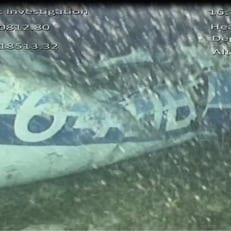 В обломках пропавшего самолета, на котором летел Сала, обнаружено одно тело