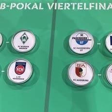 """Кубок Германии: """"Аугсбург"""" - """"Лейпциг"""" и другие пары 1/4 финала"""