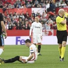 """Навас и Эскудеро получили травмы в матче против """"Лацио"""""""