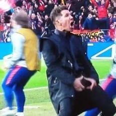 УЕФА может дисквалифицировать Диего Симеоне