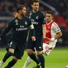 Рамос получил двухматчевую дисквалификацию в Лиге чемпионов