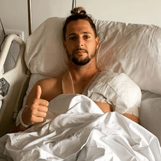 Фран Соль успешно перенес операцию на плече
