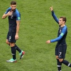 Жиру вышел на третье место в списке бомбардиров сборной Франции