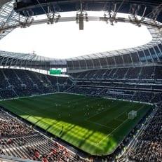 """На новом стадионе """"Тоттенхэма"""" состоялся первый тестовый матч"""