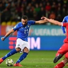 Квальярелла - самый возрастной бомбардир сборной Италии