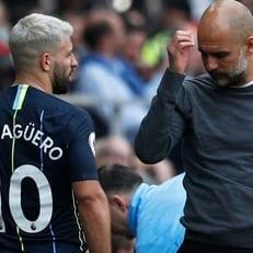 """Агуэро пропустит ближайшие матчи """"Манчестер Сити"""""""