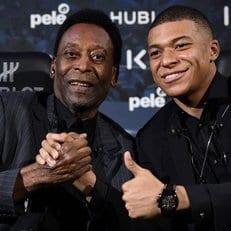 Пеле был госпитализирован в Париже после встречи с Мбаппе
