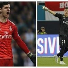 """Куртуа и Лунин будут основным выбором мадридского """"Реала"""" в следующем сезоне"""