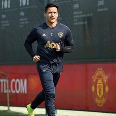 Санчес возобновил тренировки в общей группе МЮ