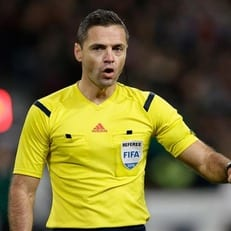 Назначены арбитры на ответные матчи 1/4 финала Лиги Европы