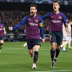 Лионель Месси забил в четвертьфинале Лиги чемпионов впервые за 6 сезонов