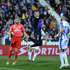 """""""Леганес"""" на своем поле отобрал очки у мадридского """"Реала"""""""