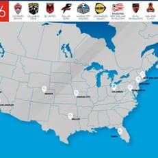 МЛС планирует расширить лигу до 30 клубов
