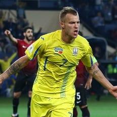 Ярмоленко вызван в сборную Украины на матчи против Сербии и Люксембурга