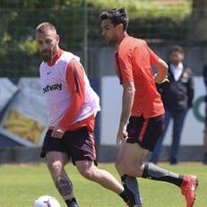 Де Росси вернулся к тренировкам в общей группе