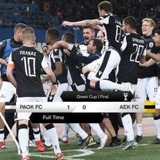 ПАОК – обладатель кубка Греции 2018/19