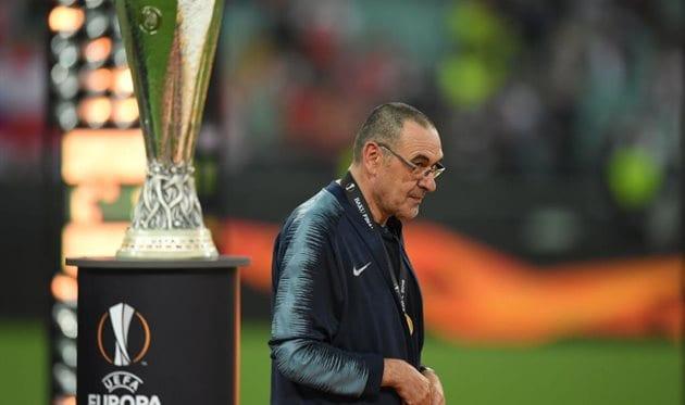 Сарри после победы в Лиге Европы уходит из 'Челси' в 'Ювентус'