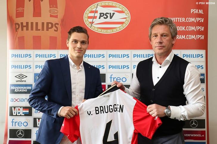 Дамиан ван Брагген, PSV Media