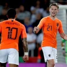 Нидерланды обыграли Англию и вышли в финал Лиги наций